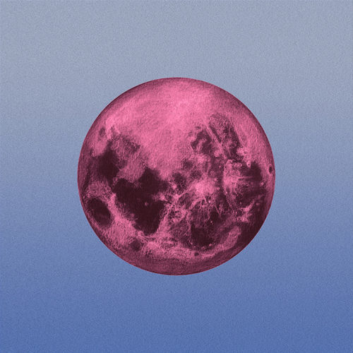 mid day moon, giclee from pastel, various sizes, 2016