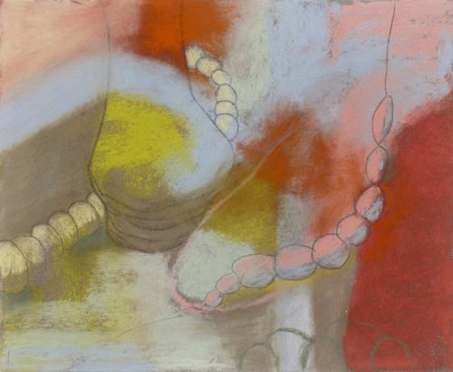 sea threads #1, pastel, 9.5 x 8 in., 2008