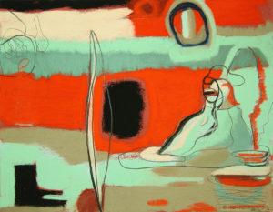 shape shifters, pastel, 9 x 10.5 in., 2009