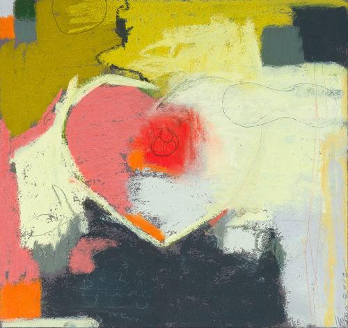 valentine 2012, watercolor, 8 x 8 in., 2012