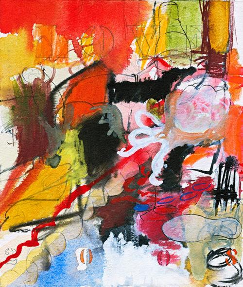 valentine 2008, watercolor, 9 x 7 in., 2008