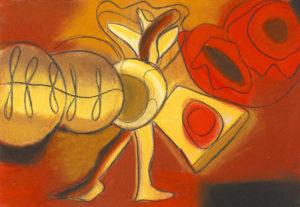 brave soul, pastel, 8 x 10 in., 2005