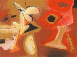 gorky rises #2, pastel, 10 x 12 in., 2006