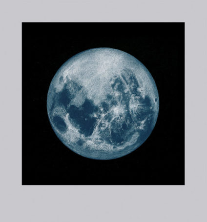 blue moon, giclee from pastel, 13 x 9 in.